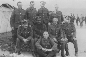 Soldiers from the Middlesex Regiment